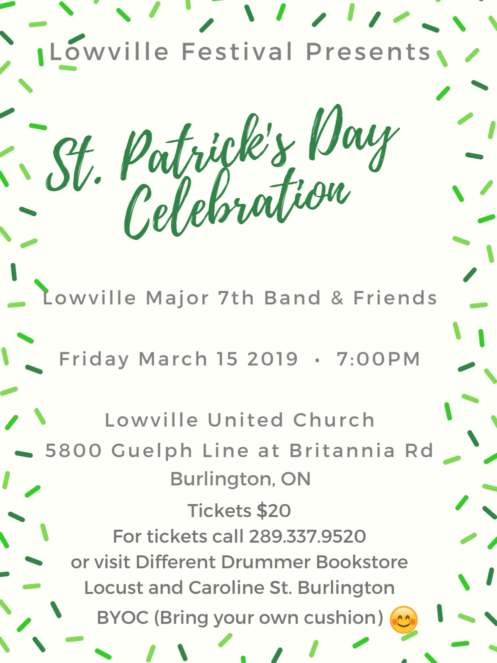 St Patrick Day Celebration Poster